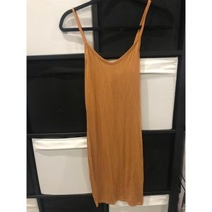 Brand new mustard yellow dress